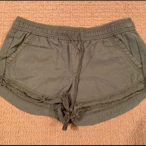 Anne Taylor Loft drawstring shorts